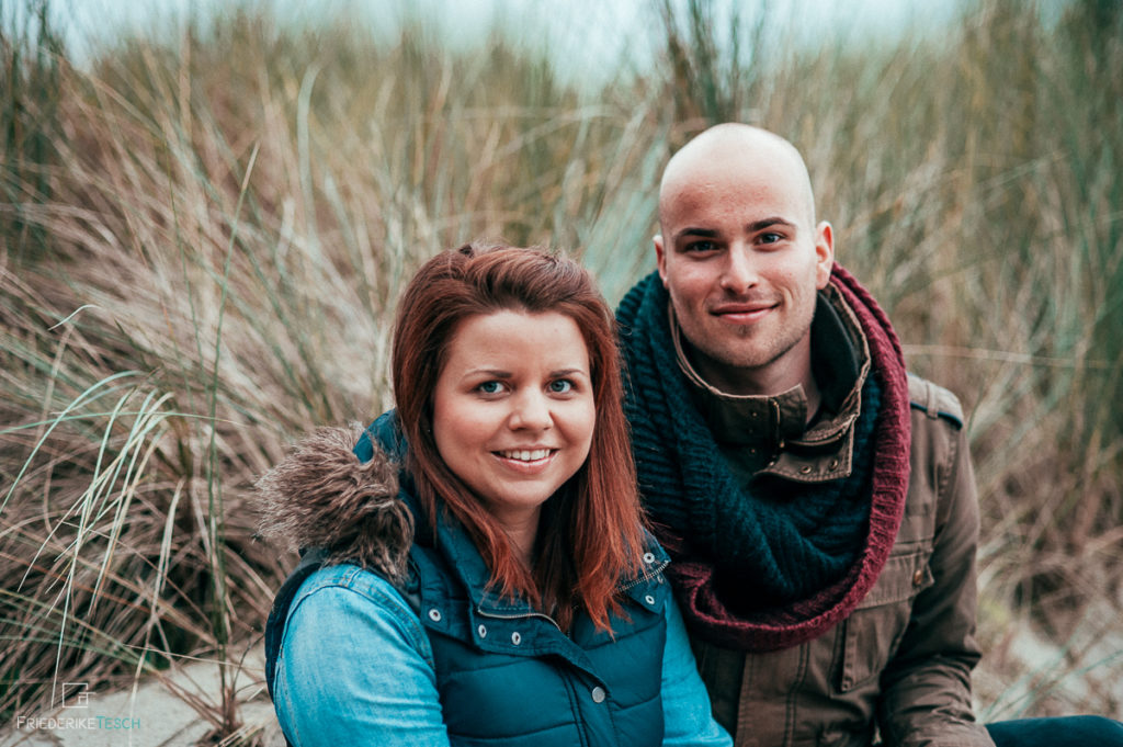 Paarshooting an der Ostsee, am Meer - natürlicher Fotograf in Rostock - 12