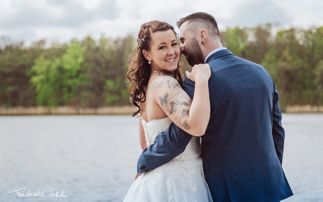 Anja & Fabian   Hochzeit in Plau am See